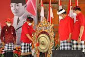 Buka Perayaan Bulan Bung Karno 2021, Bupati Sanjaya Gaungkan Prinsip Tri Sakti Bung Karno