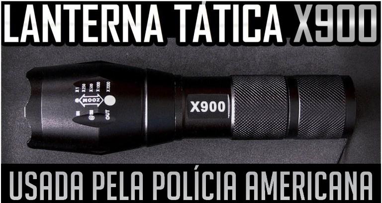 X900 ORIGINAL A MELHOR LANTERNA DO MERCADO