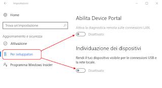Windows 10 - Per sviluppatori