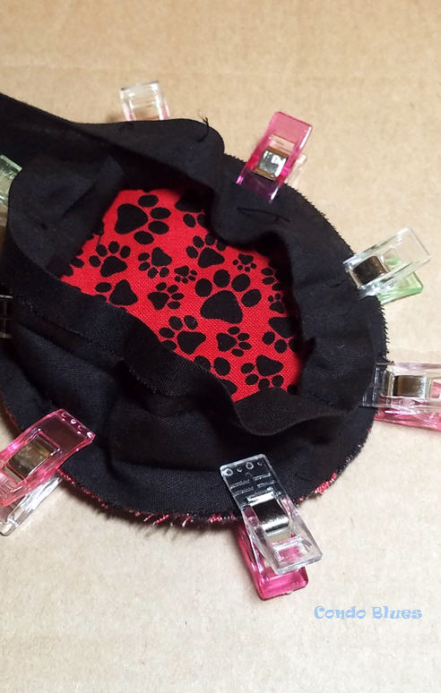 how to sew new headphone covers