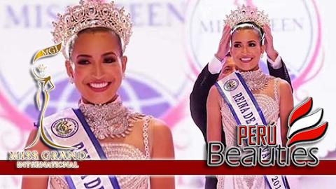 Olga Maria Flores Ortiz es Miss Grand El Salvador 2019