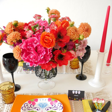 Day of The Dead Dinner Party Ideas