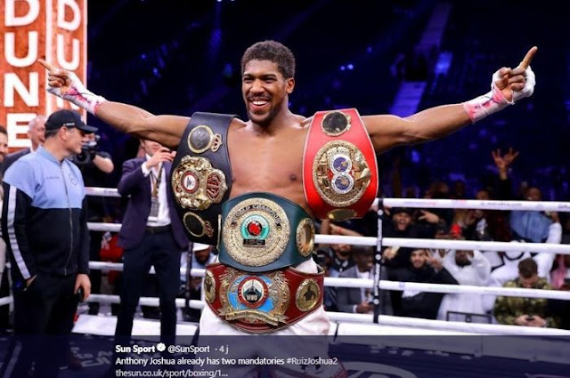 Anthony Joshua Prepared to Face Tyson Fury or Deontay Wilder in Saudi Arabia