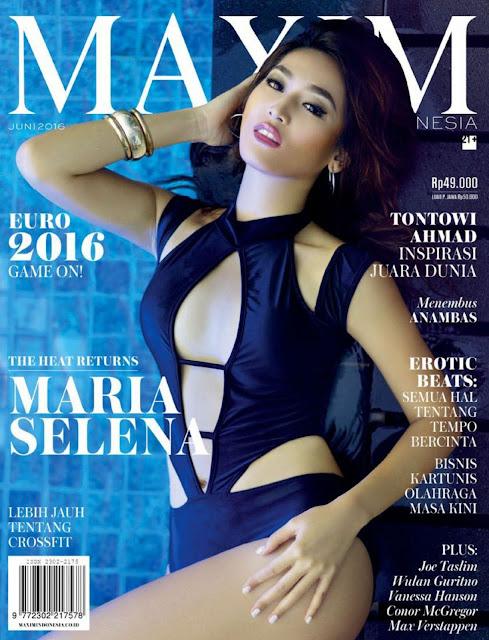 Miss Universe Indonesia , @ Maria Selena - Maxim Indonesia, June 2016