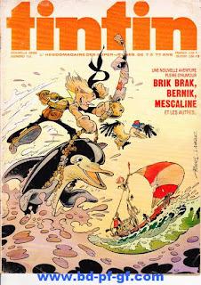 L'Hebdoptimiste, Tintin numéro 136, 1975