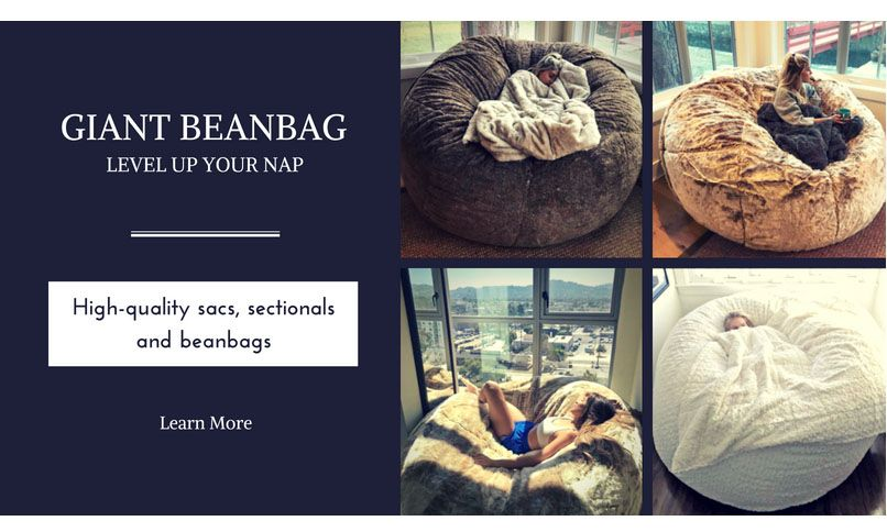 This Giant Beanbag Will Make You Wanna Nap All The Time