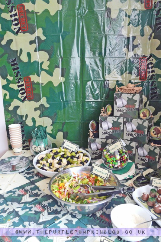 Ideas for #Army Themed #Party #Decorations
