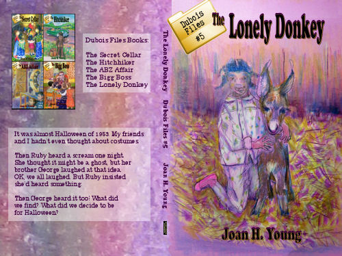 cover for The Lonely Donkey