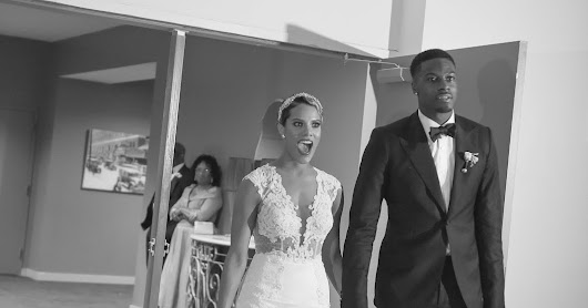 Miranda Brooke's fairytale wedding to NFL WR AJ Green by Tiffany Cook - Part 2 Reception