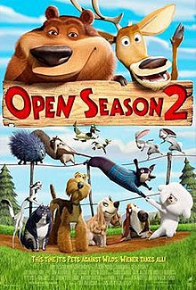 Open Season 2 (2008) Dual Audio Hindi 720p BRRip 550MB