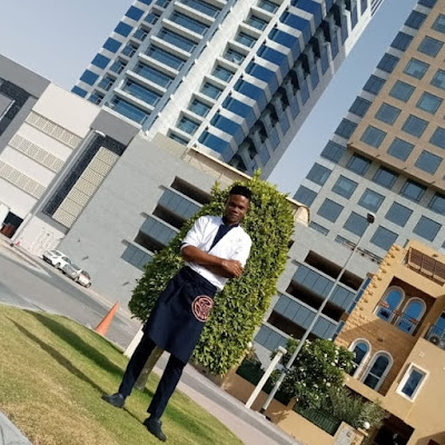 Starting from Nigeria to Dubai, Taiwo credits WAVE for laying the foundation for becoming a Chef.