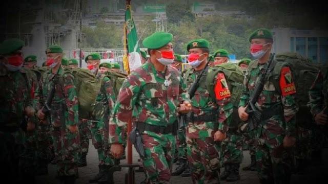 Innalillahi Prajurit Pasukan Garuda Merah TNI Meninggal Dunia di Papua