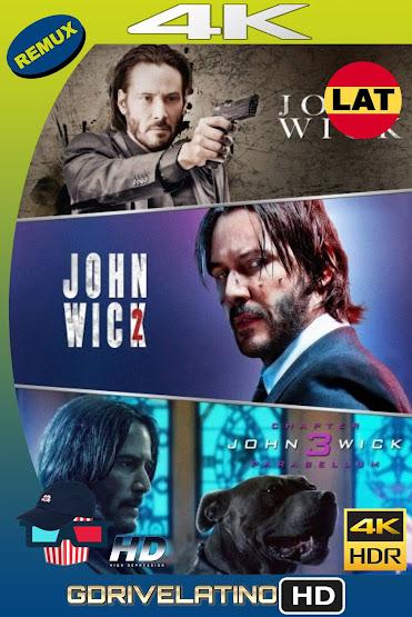 John Wick Colección (2014-2019) REMUX 4K HDR Latino-Ingles MKV