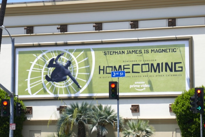 Stephan James Homecoming Emmy FYC billboard