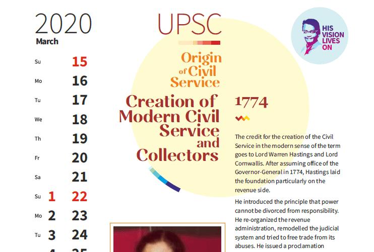 UPSC Timeline 2020