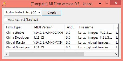 Free Xiaomi Firmware Downloader Tool V0.3