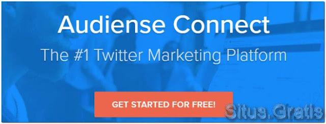 Audiense Connect adalah Tool yang ampuh yang dapat membantu Anda mengelola akun Twitter Anda