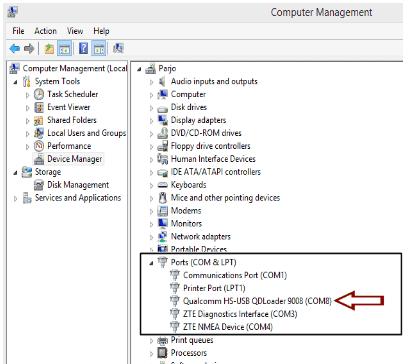 cek ke Device Manager