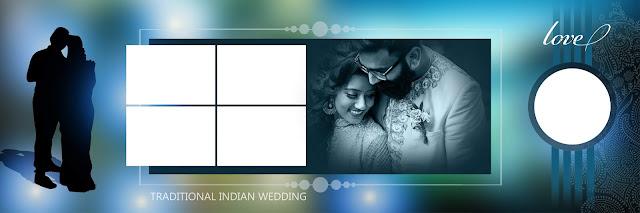 New 2020 Wedding Album Design 12x36 PSD Templates Download
