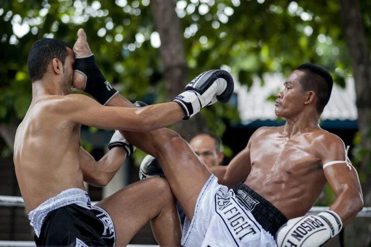 En las cárceles de Tailandia los presos pueden pelear en un torneo de Muay Thai para ganar tu libertad