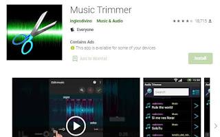 aplikasi pemotong lagu music trimmer
