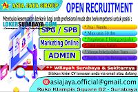 Open Recruitment at Asia Jaya Group Surabaya Terbaru Desember 2019