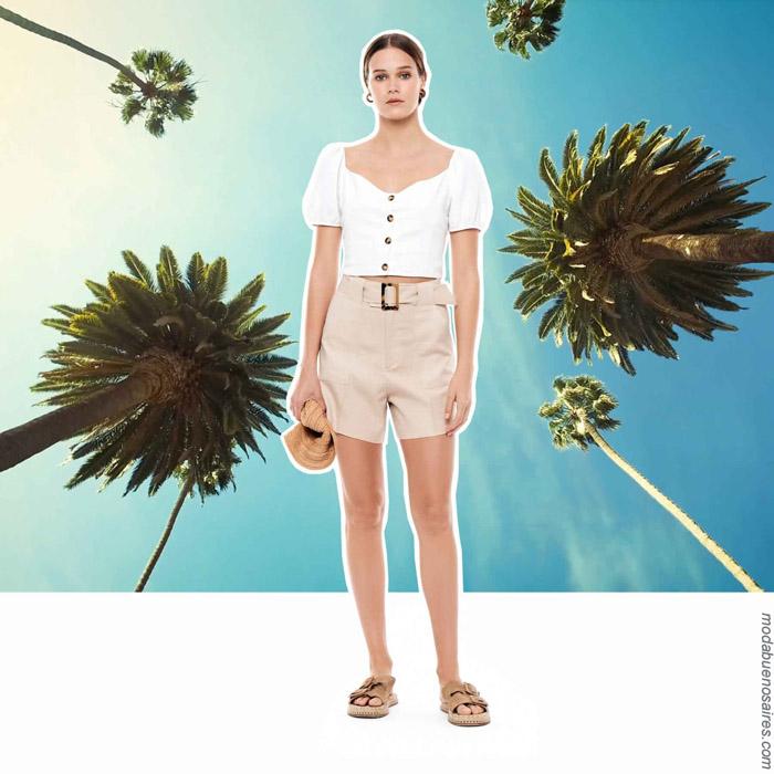 Moda mujer primavera verano 2020 ropa de moda.
