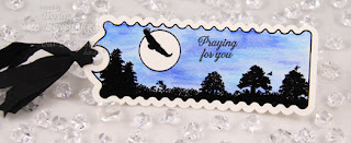 Stamps - Our Daily Bread Designs Bookmarks - Trees, Ornate Borders Sentiments, ODBD Custom Bookmark Dies