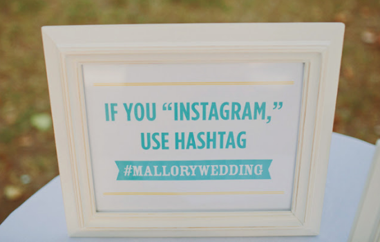Dai un hashtag al tuo matrimonio, hashtag your wedding