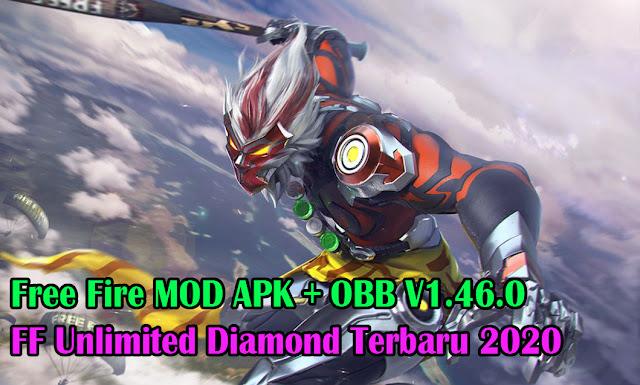garena ff mod apk + obb v1.46.0,free fire unlimited diamond terbaru,ff unlimited,ff mod apk versi 1.46,download ff mod apk terbaru,ff mod apkpure,