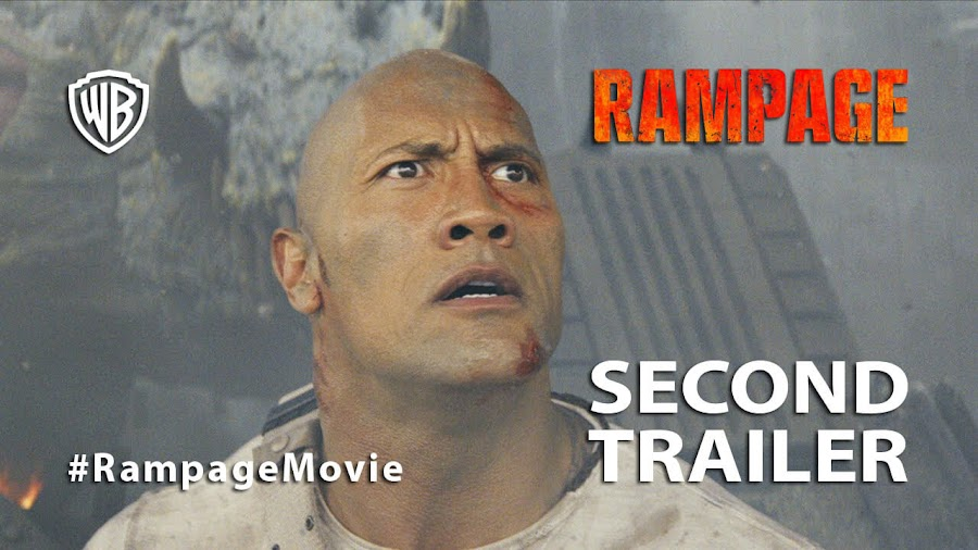 rampage trailer dwayne johnson
