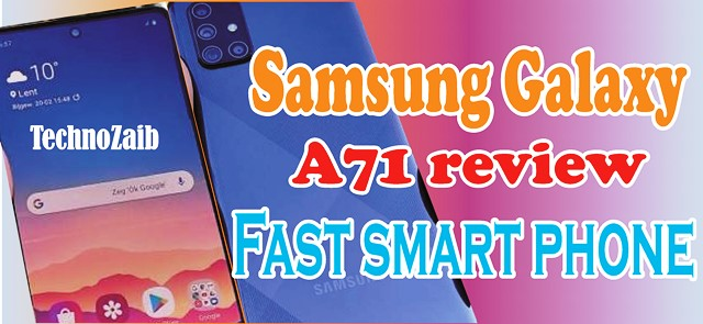 Samsung Galaxy A71 review a fast smartphone