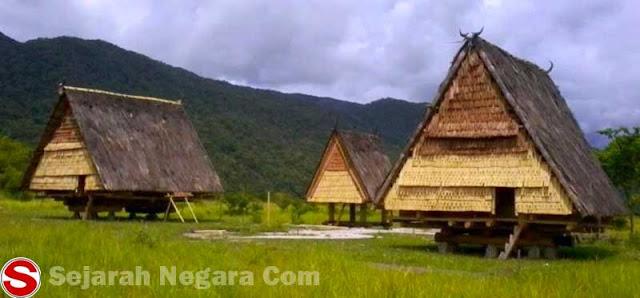 Foto Rumah Adat TAMBI,Rumah Adat Provinsi Sulawesi Tengah