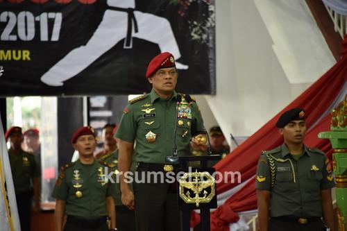 Panglima TNI : Percaya Pada Kekuatan Sendiri Kunci Raih Prestasi Karate