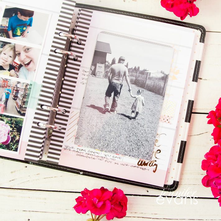 See inside my @heidiswapp Memory Planner June planner pages! by @createoften