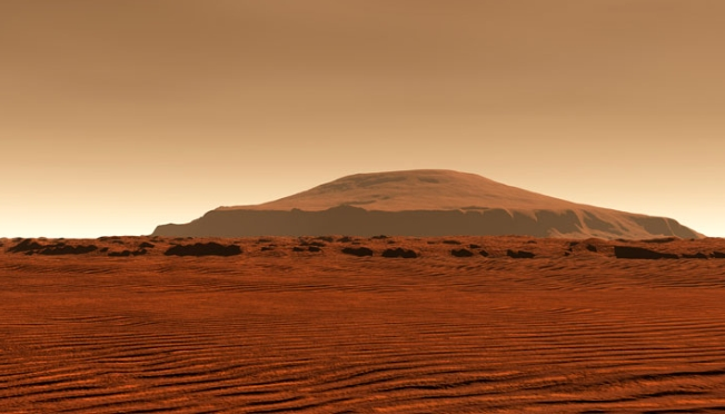 mars rover lights volcano - photo #27