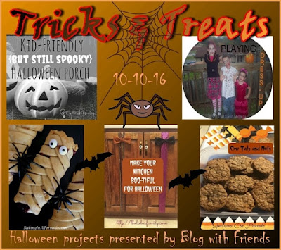 Blog With Friends, a multiblogger collaboration. One theme, a diverse group of projects and information.| October 2016 theme:Treats |  presented by www.BakingInATornado.com | #MyGraphics