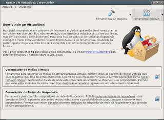 VirtualBox simplifique os testes