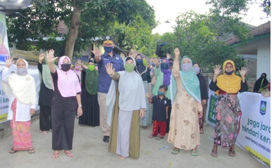 Pra HANI 2020, Polda NTB lounching Kampung Sehat Bebas Narkoba