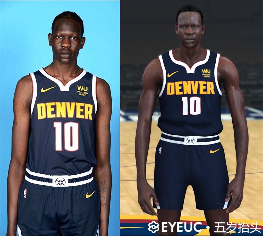 Bol Bol Hair And Body Model By 五岁抬头 [FOR 2K20] - NBA 2K ...