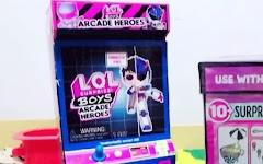 Новые мальчики L.O.L. Surprise Boys Arcade Heroes под аниме в игровых автоматах