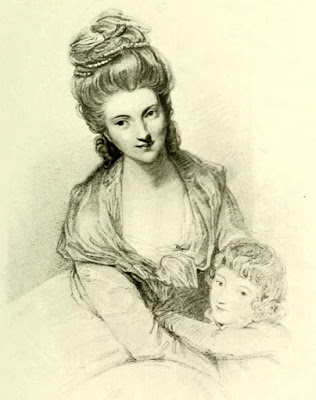 Lady Craven, from   The Beautiful Lady Craven, Lady Craven's   memoirs edited by AM Broadley and L Melville (1914)