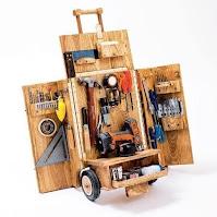 Estaciones de trabajo móviles de madera