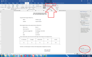 Cara Membuat Mail Merge (Mailing) Di Word 7