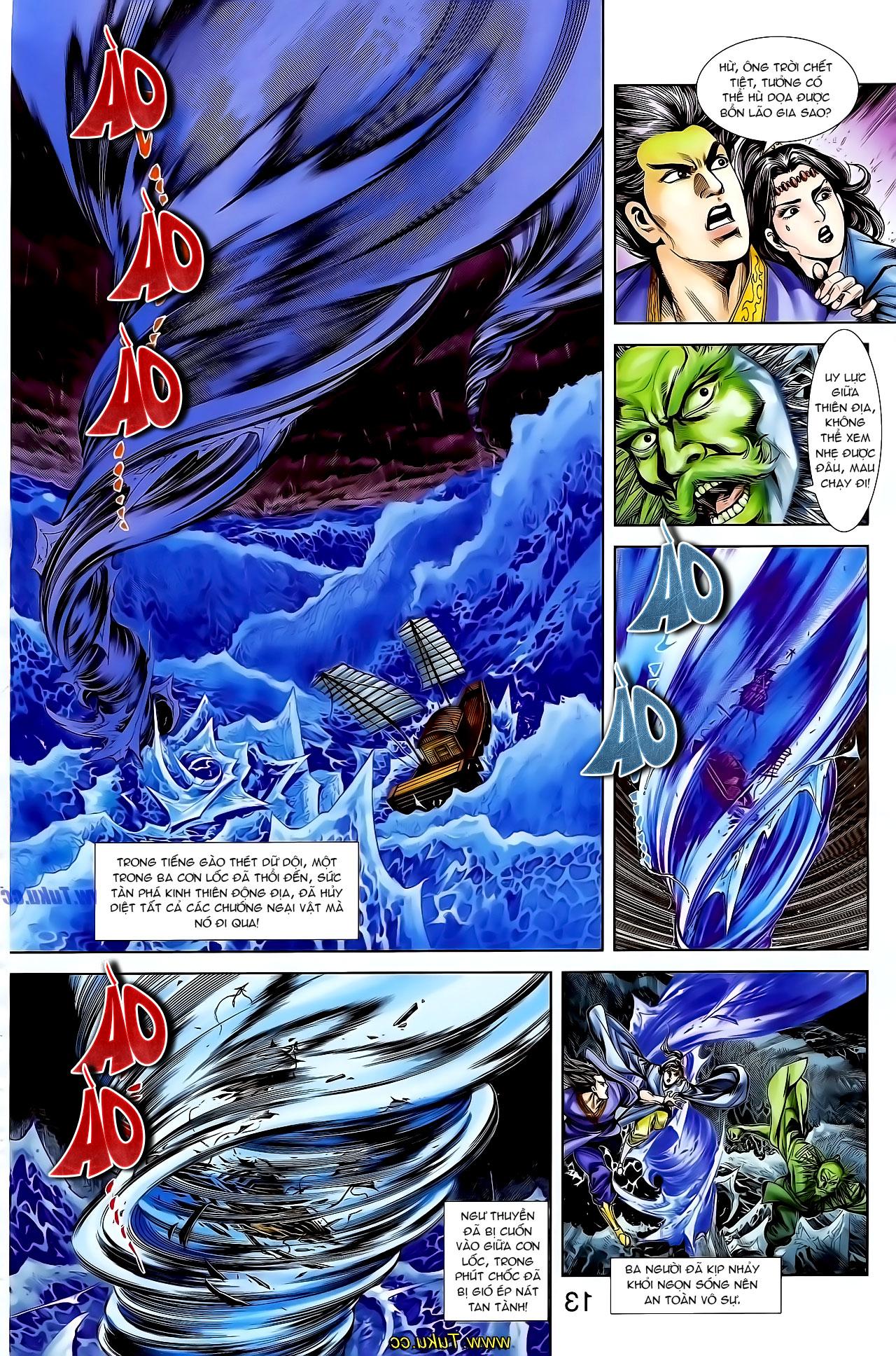 Cơ Phát Khai Chu Bản chapter 129 trang 9
