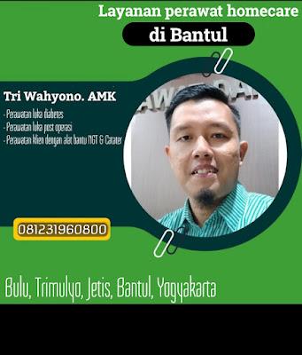 Jasa Perawat Homecare di Bantul Yogyakarta
