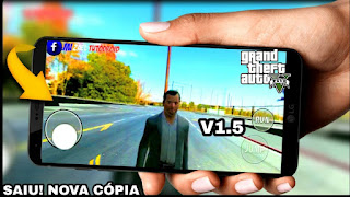 IDENTICO !! CÓPIA GTA V OFICIAL PARA CELULAR ANDROID BETA V1.5 - DOWNLOAD