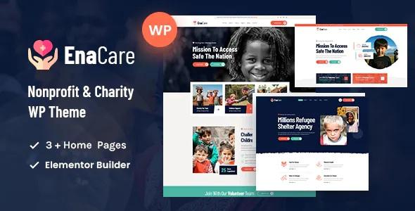 Best NonProfit & Charity Foundation WordPress Theme