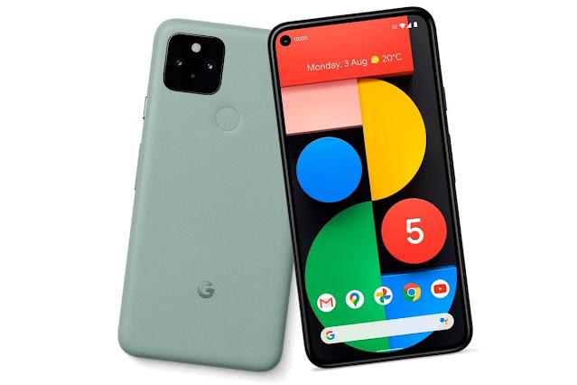 Google Pixel 5 Sorta Grey