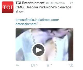 Kontroversi Deepika Padukone
